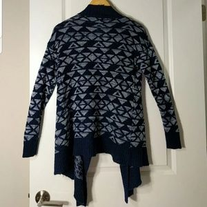 Pink Rose Sweaters - Cozy Navy & White Sweater